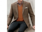85% off Executive 2 Button Fleece Rich Sportcoat, Big and Tall