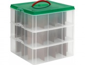 75% off Snapware 3-Pack Clear Totes with Latching Lids