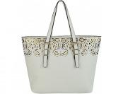 62% off Melie Bianco Tatiana Tote White Manmade Handbags