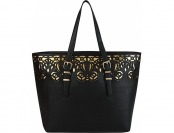 70% off Melie Bianco Tatiana Tote Black Manmade Handbags