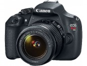 54% off Canon EOS Rebel T5 18MP DSLR Camera with Full HD Video