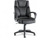 63% off Alera Fraze High-Back Swivel/Tilt Chair, Black Leather