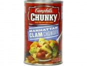 57% off Campbell's Chunky Manhattan Clam Chowder, 12-Pk