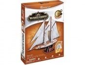 81% off 3D Jigsaw Puzzle, Two-Masted Schooner 3D Puzzle