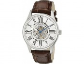 80% off Stuhrling Original Men's 747.01 Atrium Leather Band Watch