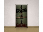 88% off Walking Dead Dead Inside Door Cling