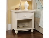 65% off Sauder Harbor View Night Stand, Antiqued White Finish