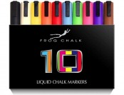 68% off Premium Liquid Chalk Markers - 10 Pack - Vibrant Colors!
