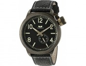 66% off Vestal Unisex CTN3L07 Canteen Black and Gold Watch
