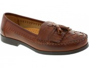 52% off Men's Deer Stags Herman Loafers - Brown