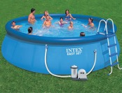 "50% off Intex 18' x 48"" Easy Set Swimming Pool"