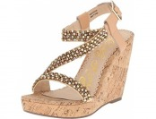 65% off Naughty Monkey Women's Sugar Rush Wedge Sandal