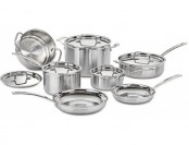 70% off Cuisinart MCP-12N Pro Stainless Steel 12-Pc Cookware Set