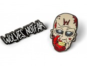 87% off The Walking Dead Wolves Pin Set