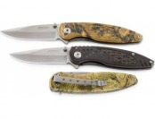 84% off 3 Spring-assisted Folding Knives