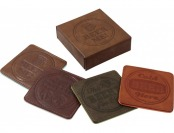 60% off Grand Star Leather Coasters Set