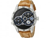89% off Joshua & Sons Men's JS97SSBR Analog Quartz Watch