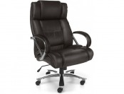 59% off OFM Avenger Big and Tall Leather Executive Swivel Chair