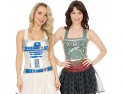 24% off Star Wars Corset Tops, R2-D2 and Boba Fett