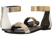80% off Pierre Balmain Facet Stone Ankle Strap Women's Sandals