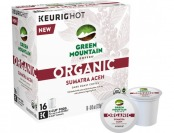 33% off Keurig Green Mountain Coffee Organic Dark Roast K-cups