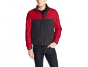 76% off Perry Ellis Men's Microfiber Color Block Jacket