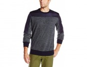 78% off Jet Lag Men's Crew-Neck Double Zipper Pullover Sweatshirt