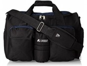 53% off Everest Gym Bag with Wet Pocket, Navy, One Size