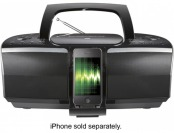 51% off Insignia CD Boombox With Fm Radio And Apple Dock