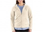 87% off Carhartt Women's Boyne Fleece Jacket, Zip Front Hooded