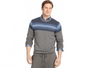 93% off Izod Big and Tall Varsity-Stripe Sweater