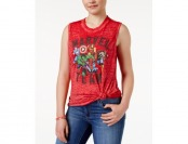 79% off Freeze 24-7 Juniors' Marvel Team Graphic Tank Top