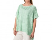 77% off Joan Vass Boat Neck Dolman Sweater (For Women)