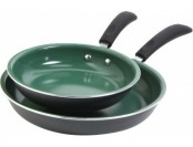 63% off Gibson Home Hummington 2-Piece Ceramic Non-Stick Pan Set
