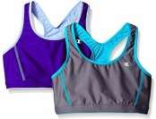 76% off Champion Women's 2-Pack Reversible Racerback Sport Bra