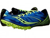 75% off Saucony Endorphin MD4 Blue Men's Track Shoes