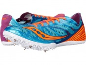 80% off Saucony Endorphin MD4 Blue Women's Spike Shoes