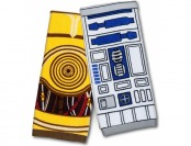 68% off Star Wars Hand Towel Set - R2-D2 & C-3PO