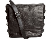 83% off John Varvatos Richards Leather Messenger Bag