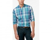 80% off Club Room Courtenay Plaid Shirt