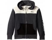 81% off STX Big Boys' Fleece Hooded Jacket, Natural
