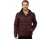 $49 off Perry Ellis Men's 27 Inch Nylon Quilted Hooded Jacket