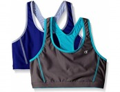 81% off Champion Women's 2-Pack Reversible Racerback Sport Bra
