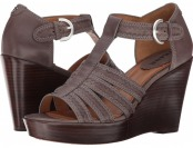 79% off Trask Saydee (Charcoal Italian Calfskin) Women's Shoes