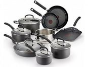 $68 off T-fal E918SE Ultimate Hard Anodized Nonstick 14pc Cookware