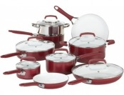 $79 off WearEver Pure Living Nonstick 15pc Ceramic Cookware