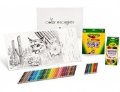 40% off Crayola National Parks Adult Coloring Book & Pencil Set