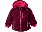 70% off Big Chill Little Girls' Puffer Coat with Sherpa Trim Hood