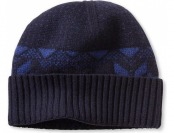 77% off Banana Republic Patterned Beanie One Size - Navy
