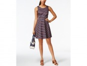 83% off Tommy Hilfiger Peggy Striped Fit & Flare Dress